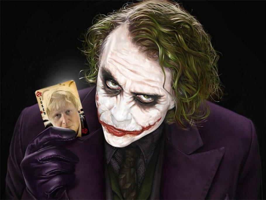 Halloween Joker Card.Oh He S Such A Card Boris Johnson The Joker But Where Does He
