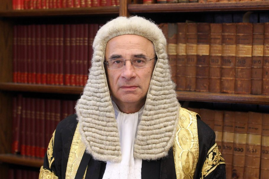 "Sir Brian Leveson: ""I Knew I was Being Lied to by Newspaper Editors Over Phone Hacking"" PA-17784095-e1562196470385-910x0-c-default"