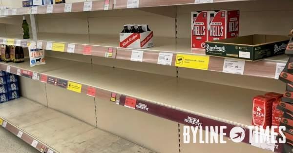 Empty-Shelves-in-Sainsburys-supermarket-